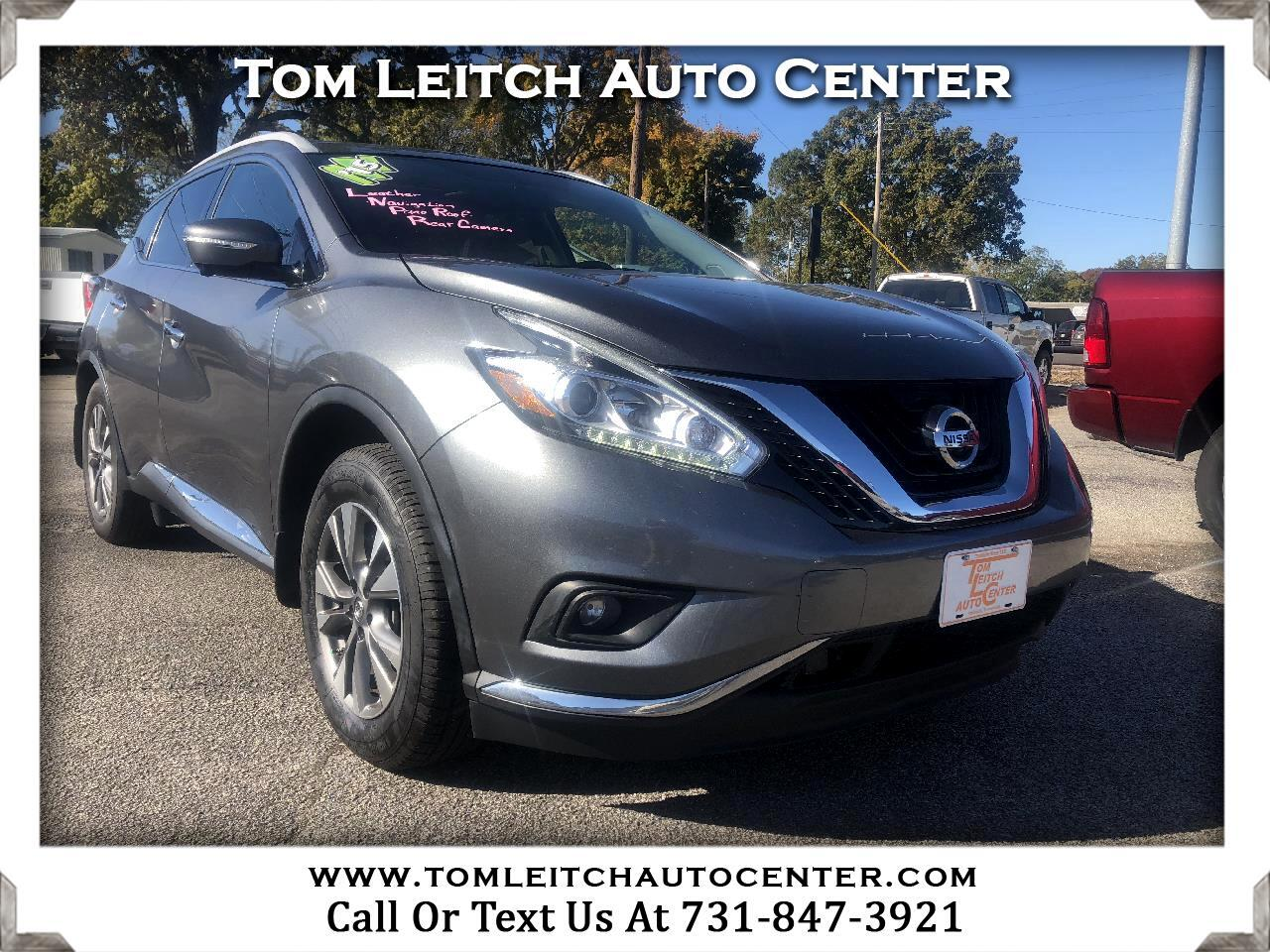 2015 Nissan Murano FWD 4dr SL
