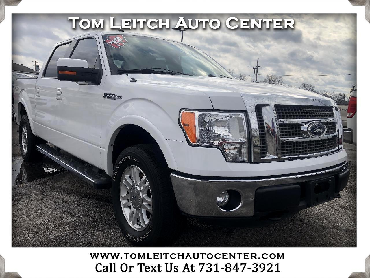 "2012 Ford F-150 4WD SuperCrew 145"" Lariat"