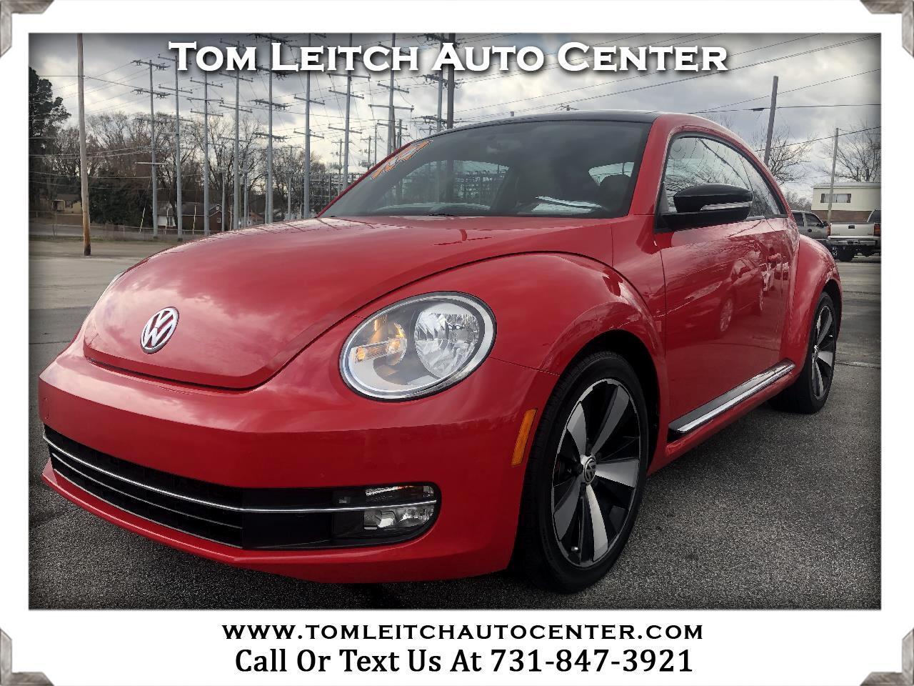 2012 Volkswagen Beetle 2dr Cpe DSG 2.0T Turbo w/Sun/Snd/Nav PZEV