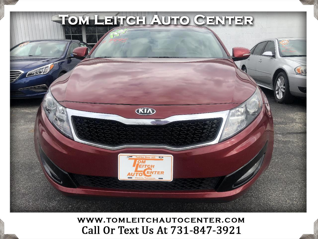 2013 Kia Optima 4dr Sdn LX