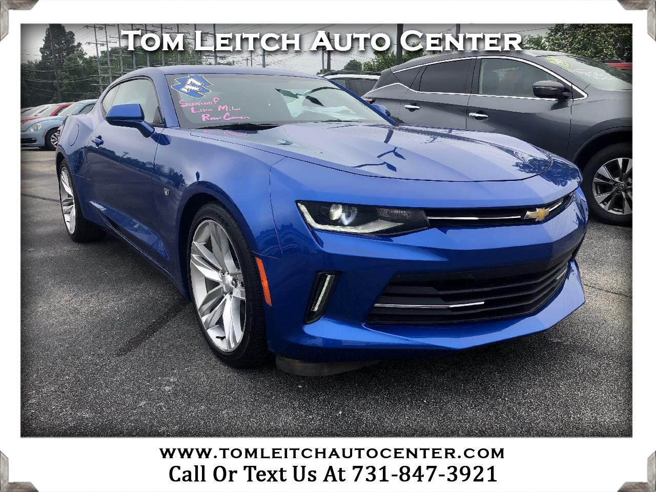 2017 Chevrolet Camaro 2dr Cpe LT w/1LT