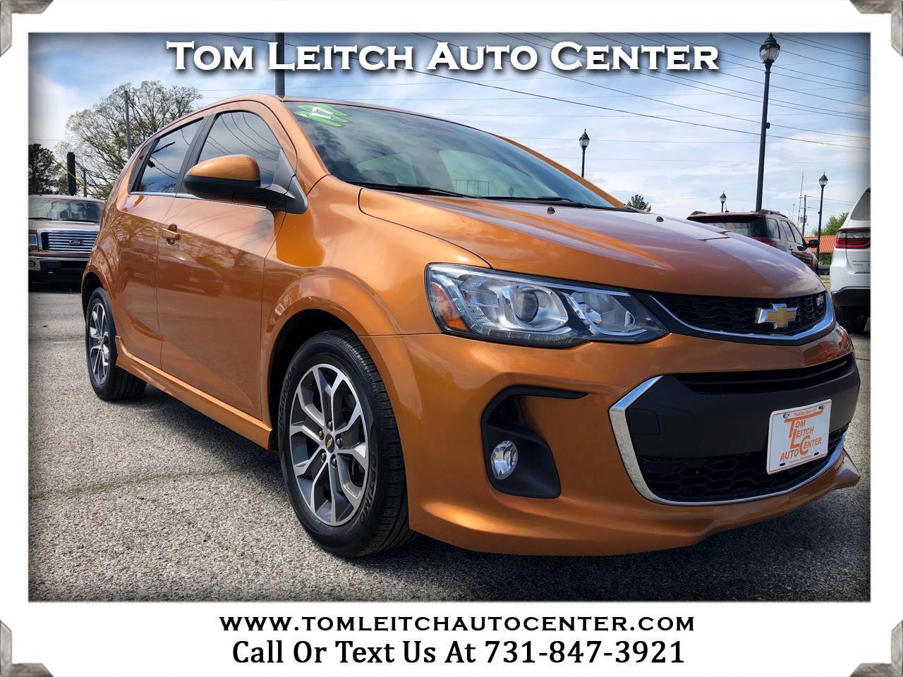 Chevrolet Sonic 5dr HB Auto LT w/1SD 2017