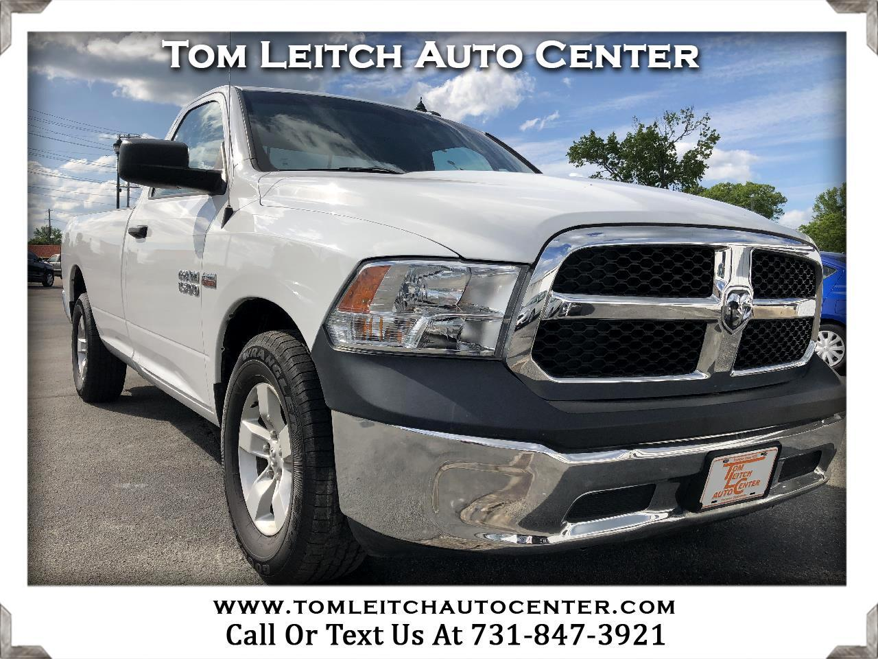 RAM 1500 Tradesman 4x2 Regular Cab 8' Box 2017