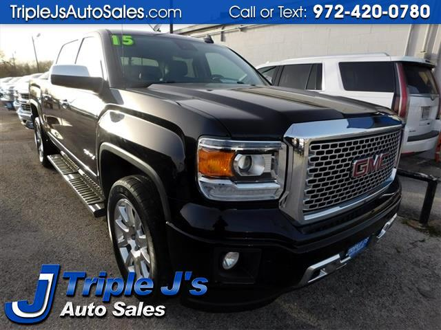 2015 GMC Sierra 1500 Denali Crew Cab Long Box 2WD