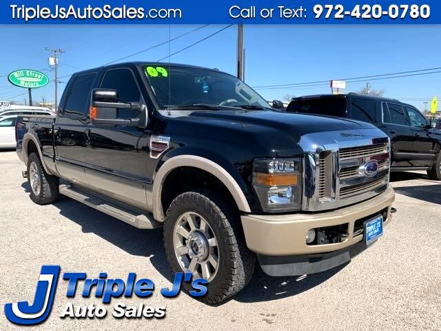 Ford F-250 SD XL Crew Cab Long Bed 4WD 2009
