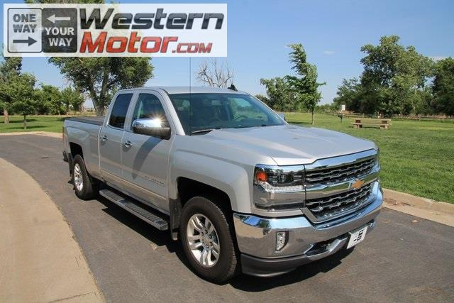 2017 Chevrolet Silverado 1500 LTZ Double Cab Short Box 4WD