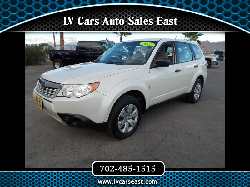 2012 Subaru Forester 2.5 X Premium Package