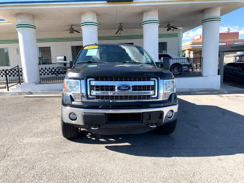 "Ford F-150 4WD SuperCrew 139"" FX4 2014"