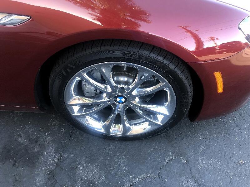 2012 BMW 6-Series 640i Convertible