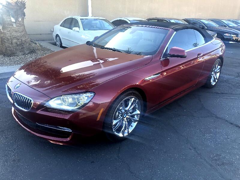 BMW 6-Series 640i Convertible 2012