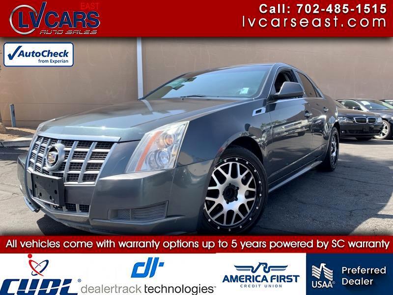 Cadillac CTS Sedan 4dr Sdn 3.0L RWD 2012