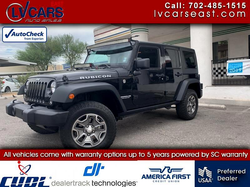 2014 Jeep Wrangler Unlimited 4WD 4dr Rubicon Hard Rock