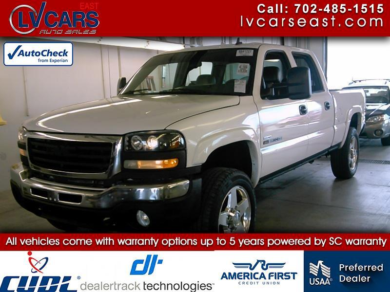 GMC Sierra 2500HD Work Truck Crew Cab Long Bed 4WD 2006