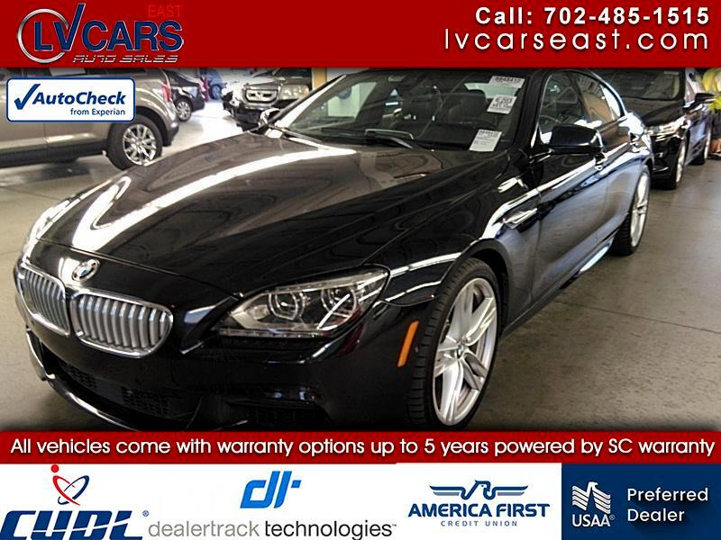 BMW 6-Series Gran Coupe 650i 2014