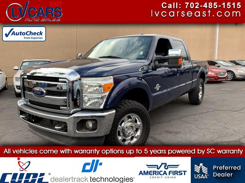 2012 Ford F-250 SD Crew Cab Long Bed Harley Davidson