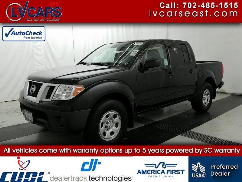 2017 Nissan Frontier S Crew Cab 5AT 2WD