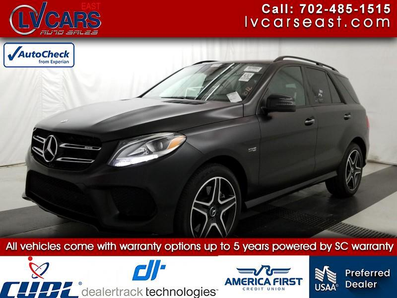 2018 Mercedes-Benz GLE-Class AMG GLE 43 4MATIC