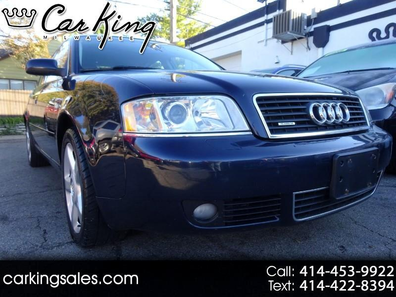 2004 Audi A6 3.0 with Tiptronic