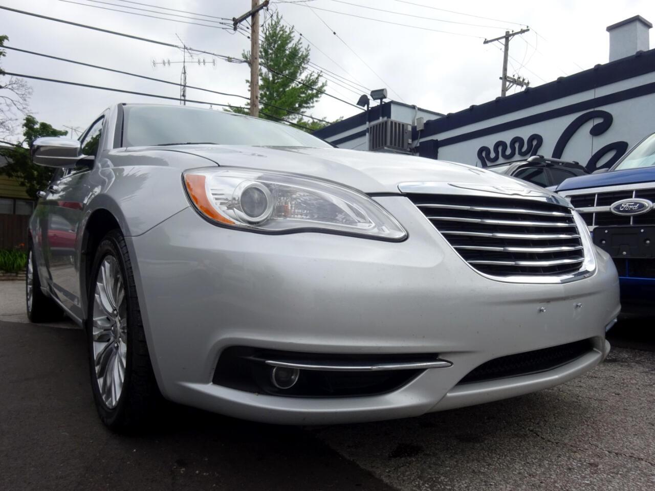 Chrysler 200 4dr Sdn Limited 2012