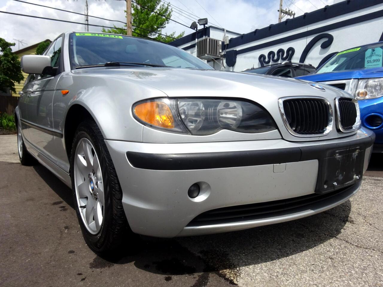 BMW 3 Series 325i 4dr Sdn RWD 2004