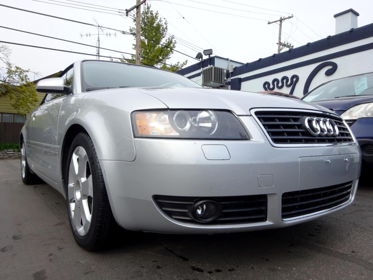 Audi A4 2005 2dr Cabriolet 1.8T CVT 2005