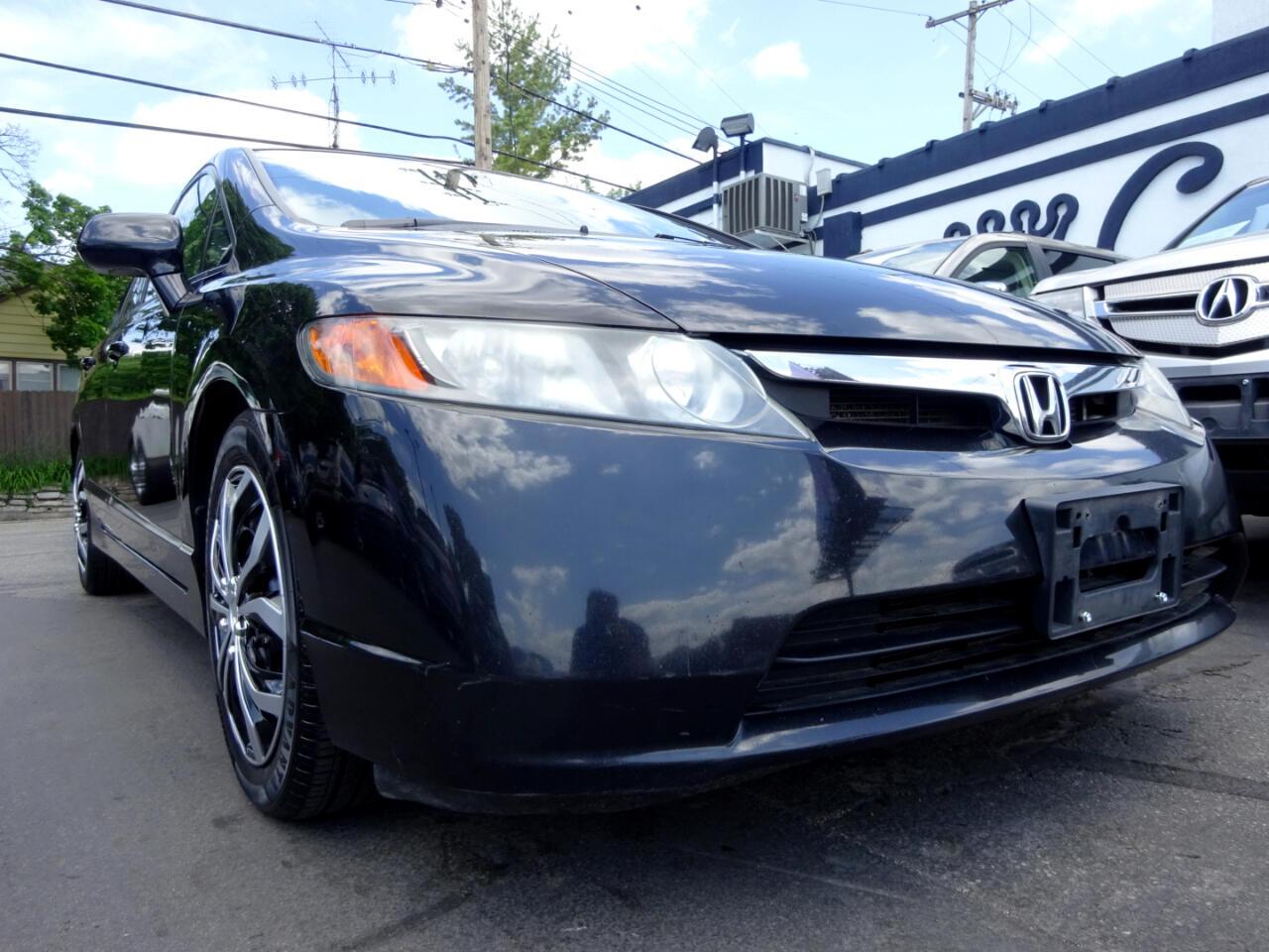 Honda Civic Sdn 4dr Auto LX 2008