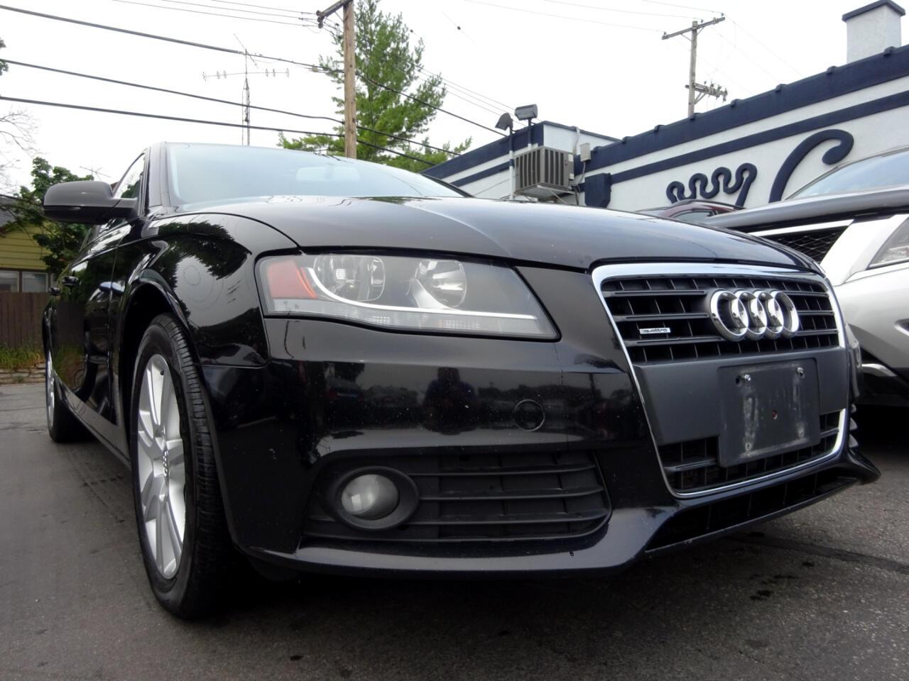 Audi A4 4dr Sdn Auto quattro 2.0T Premium 2011
