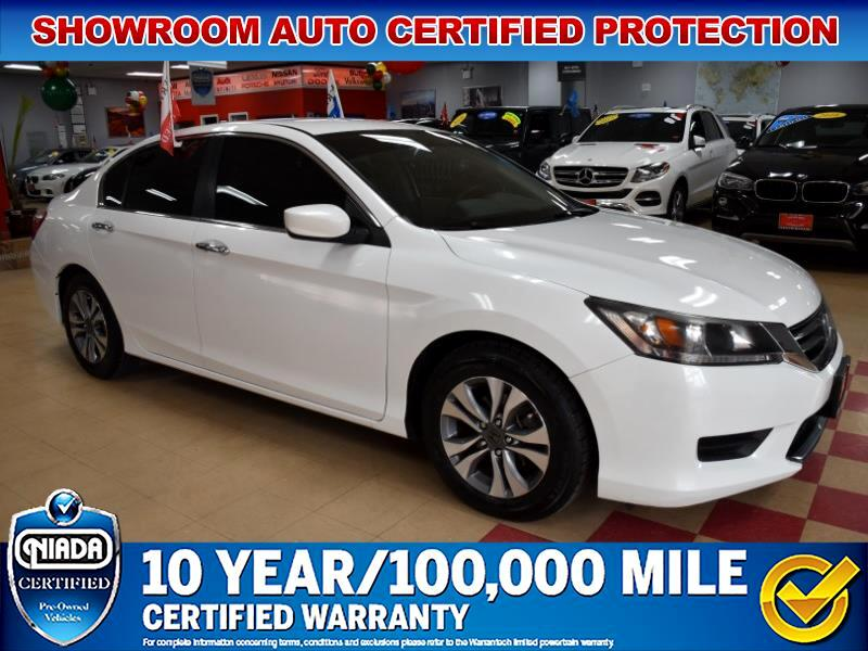 Honda Accord LX Sedan CVT 2014