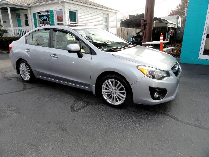 2012 Subaru Impreza Limited 4-Door+S/R