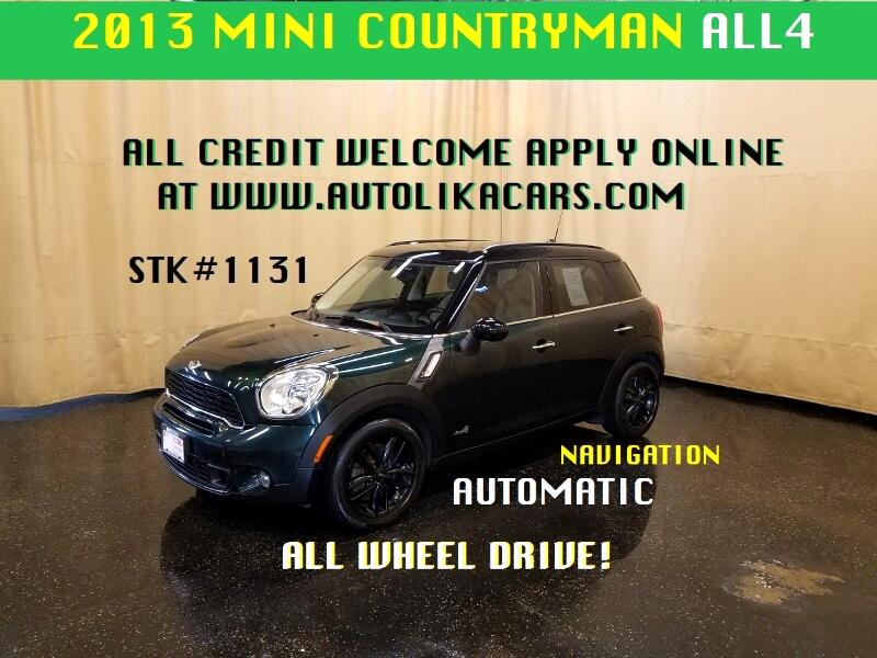 2013 MINI Countryman S ALL4