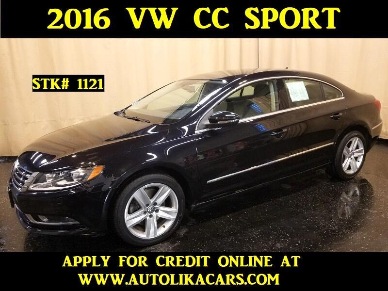2016 Volkswagen CC 2.0T Sport