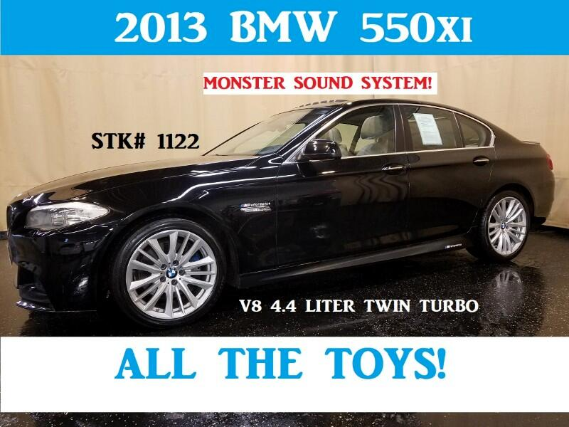 2013 BMW 5-Series 550i xDrive