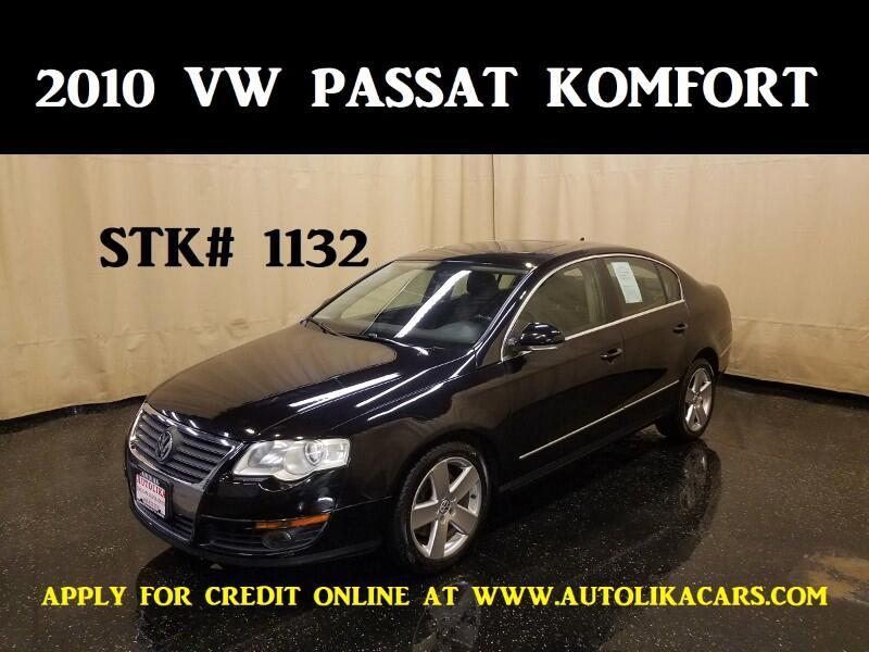 2010 Volkswagen Passat Komfort PZEV