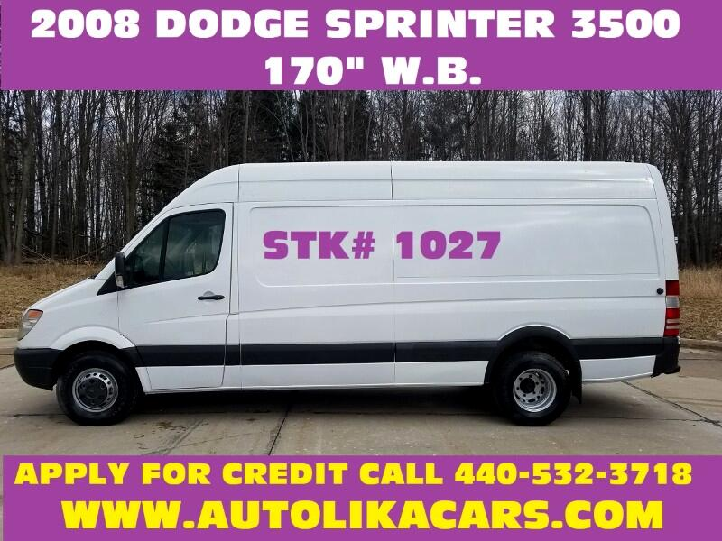 2008 Dodge Sprinter Van 3500 170""