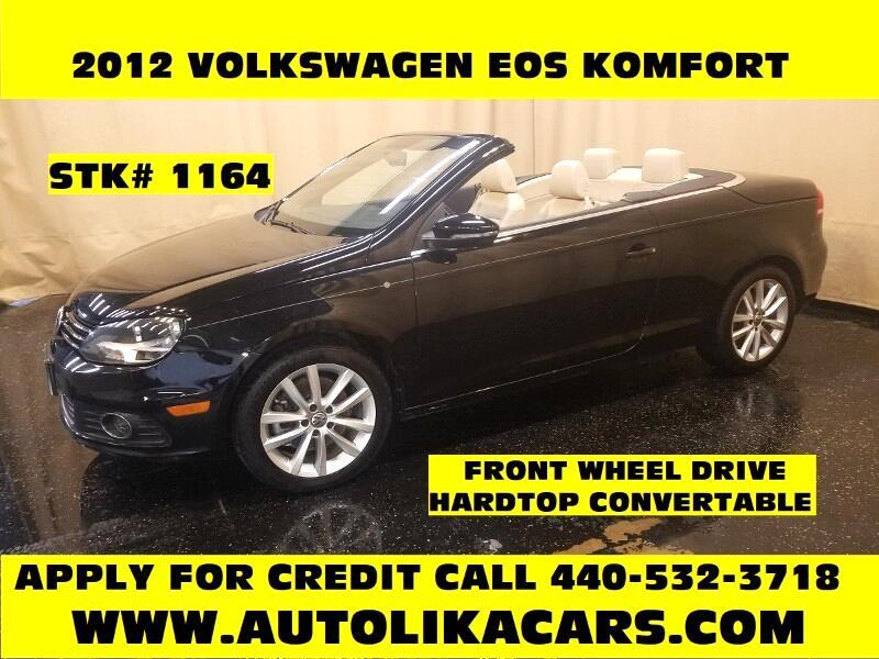 2012 Volkswagen Eos 2dr Conv Komfort