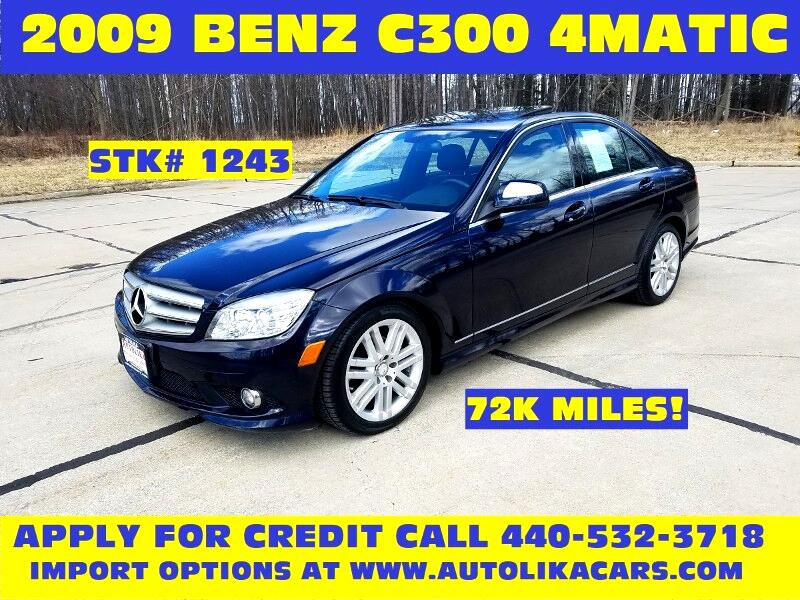 Used 2009 Mercedes-Benz C-Class for Sale in North Royalton