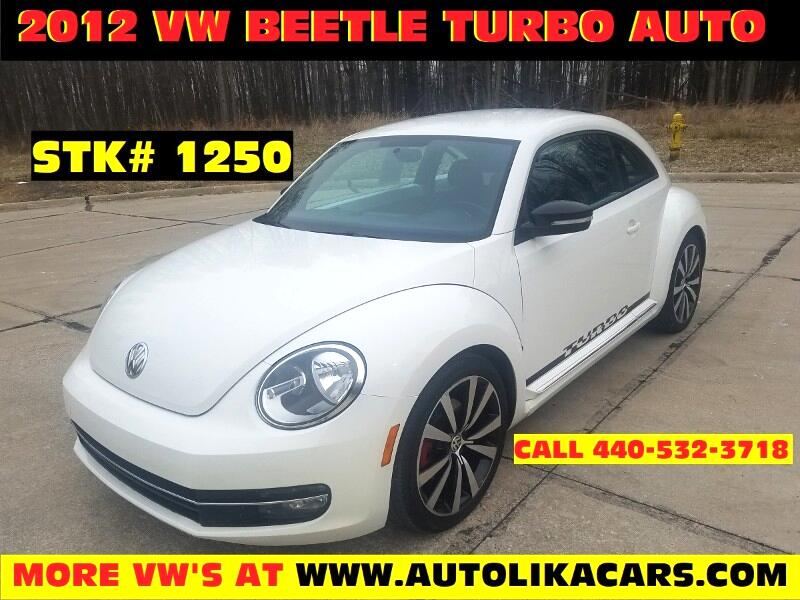 2012 Volkswagen Beetle 2dr Cpe DSG 2.0T Black Turbo Launch Edition PZEV