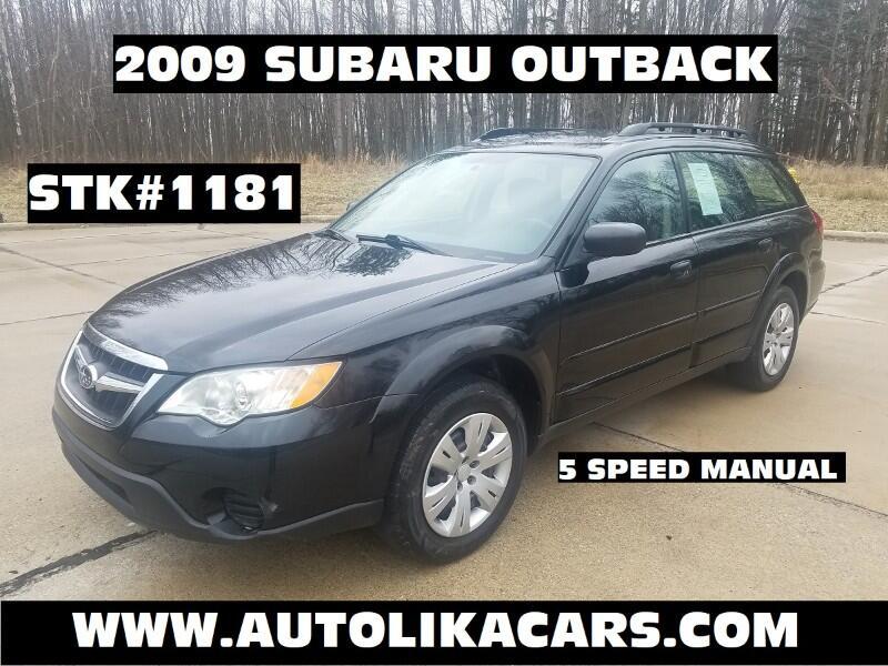 2009 Subaru Outback 4dr H4 Man