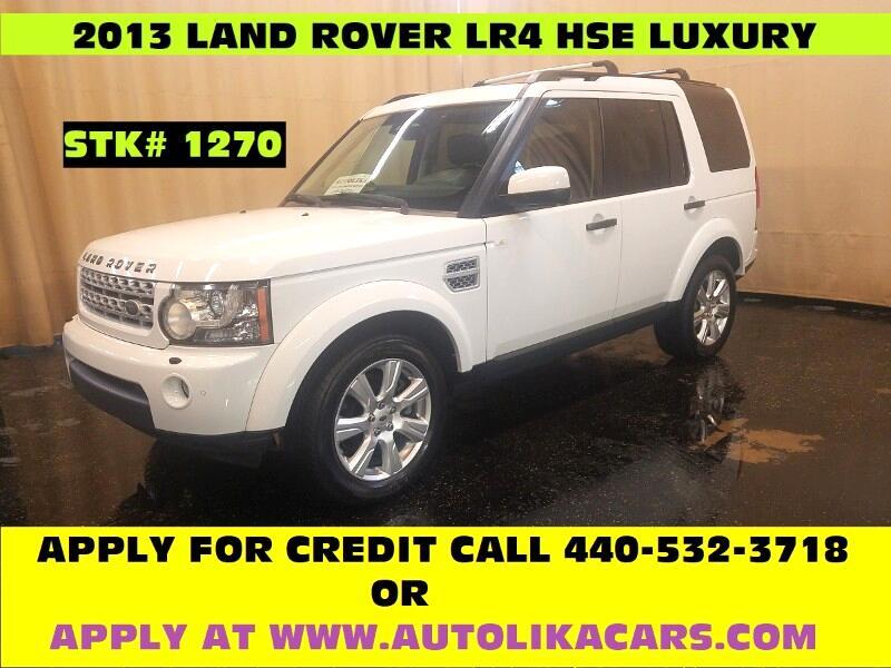 2013 Land Rover LR4 HSE Luxury