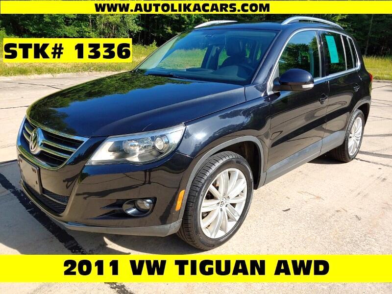 2011 Volkswagen Tiguan 4WD 4dr SEL 4Motion