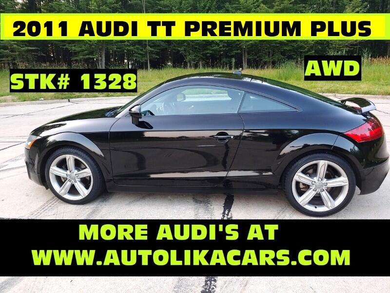2011 Audi TT 2dr Cpe S tronic quattro 2.0T Premium Plus