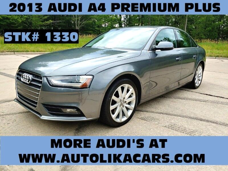 Used 2013 Audi A4 for Sale in North Royalton, OH 44133