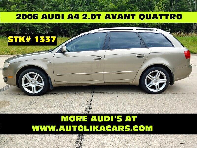 2006 Audi A4 Avant 5dr Wgn 2.0T Avant quattro Auto
