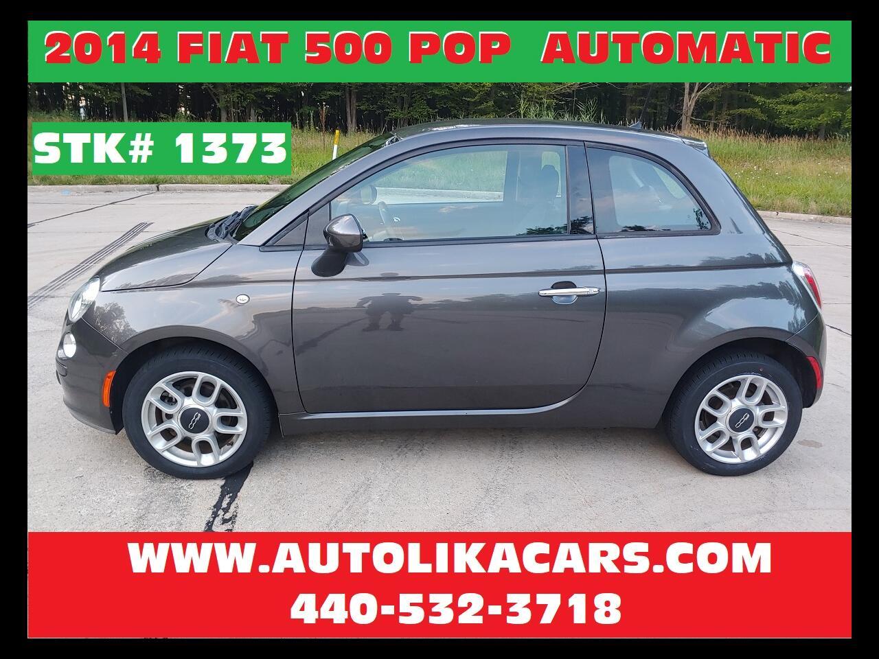 2014 Fiat 500 2dr HB Pop