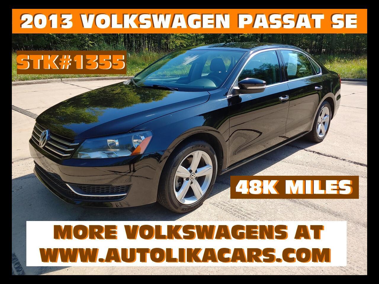 2013 Volkswagen Passat 4dr Sdn 2.5L Auto SE