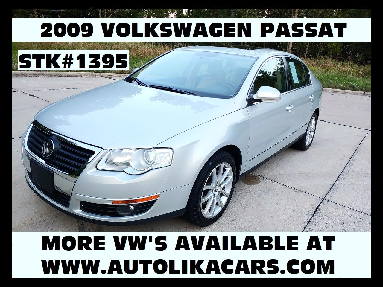 2009 Volkswagen Passat Sedan 4dr Auto Komfort FWD
