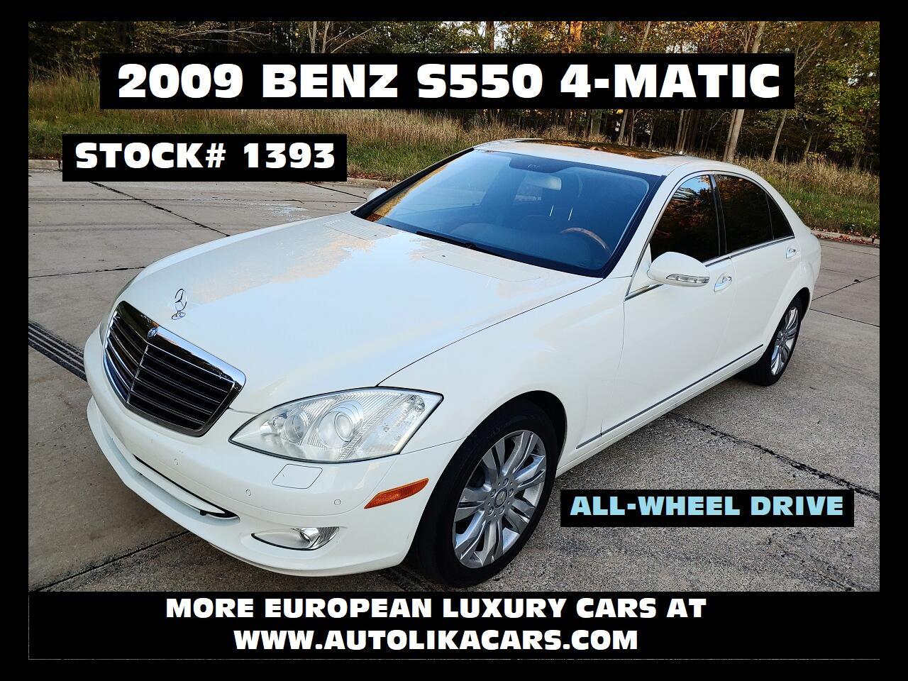 Mercedes-Benz S-Class 4dr Sdn 5.5L V8 4MATIC 2009