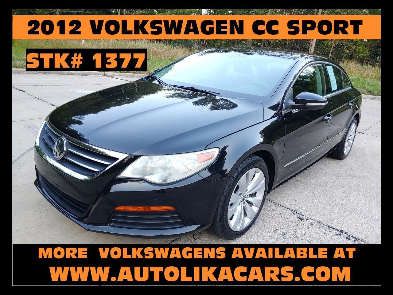 2012 Volkswagen CC 4dr Sdn DSG Sport