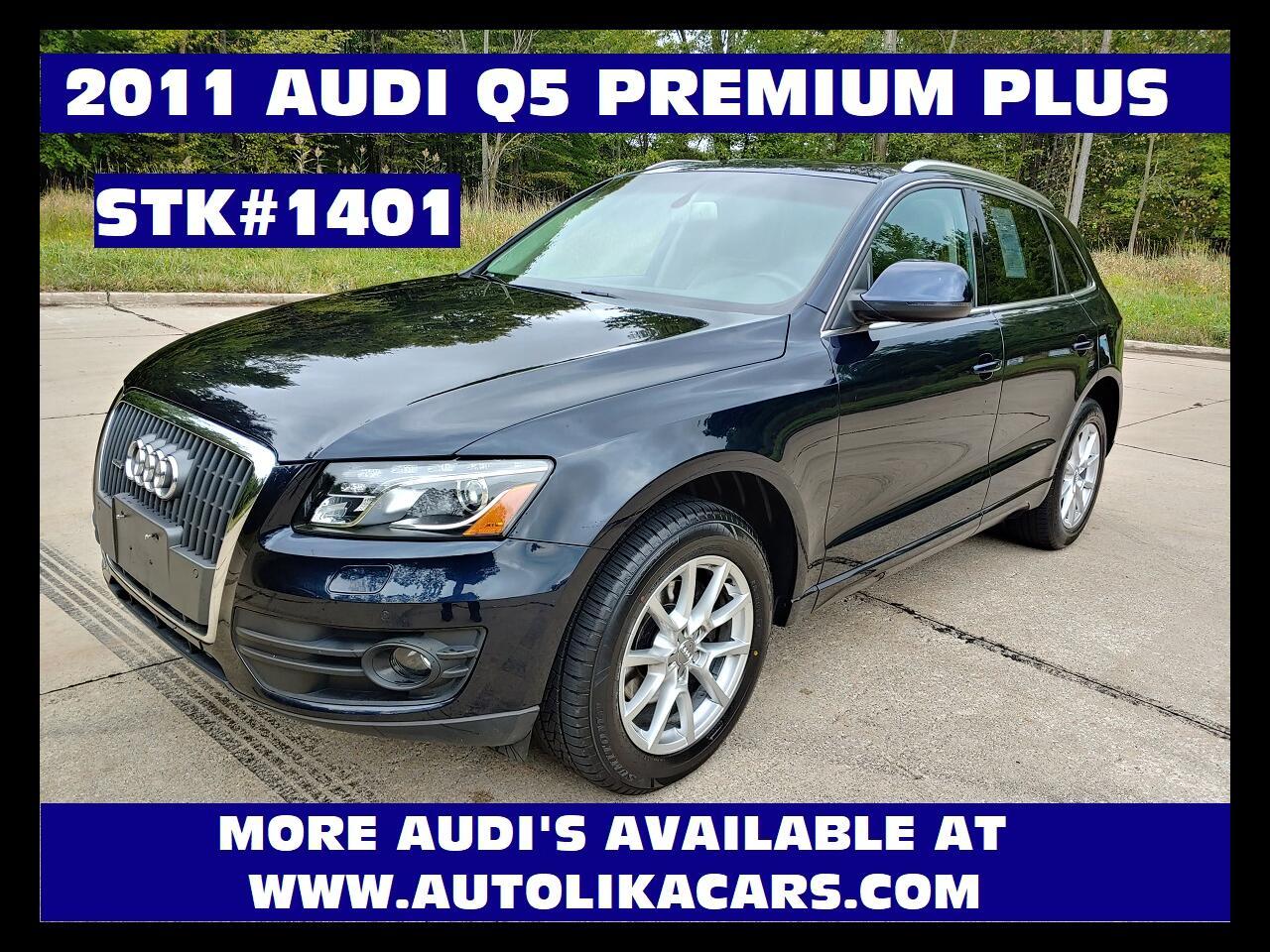 Audi Q5 quattro 4dr 2.0T Premium Plus 2011