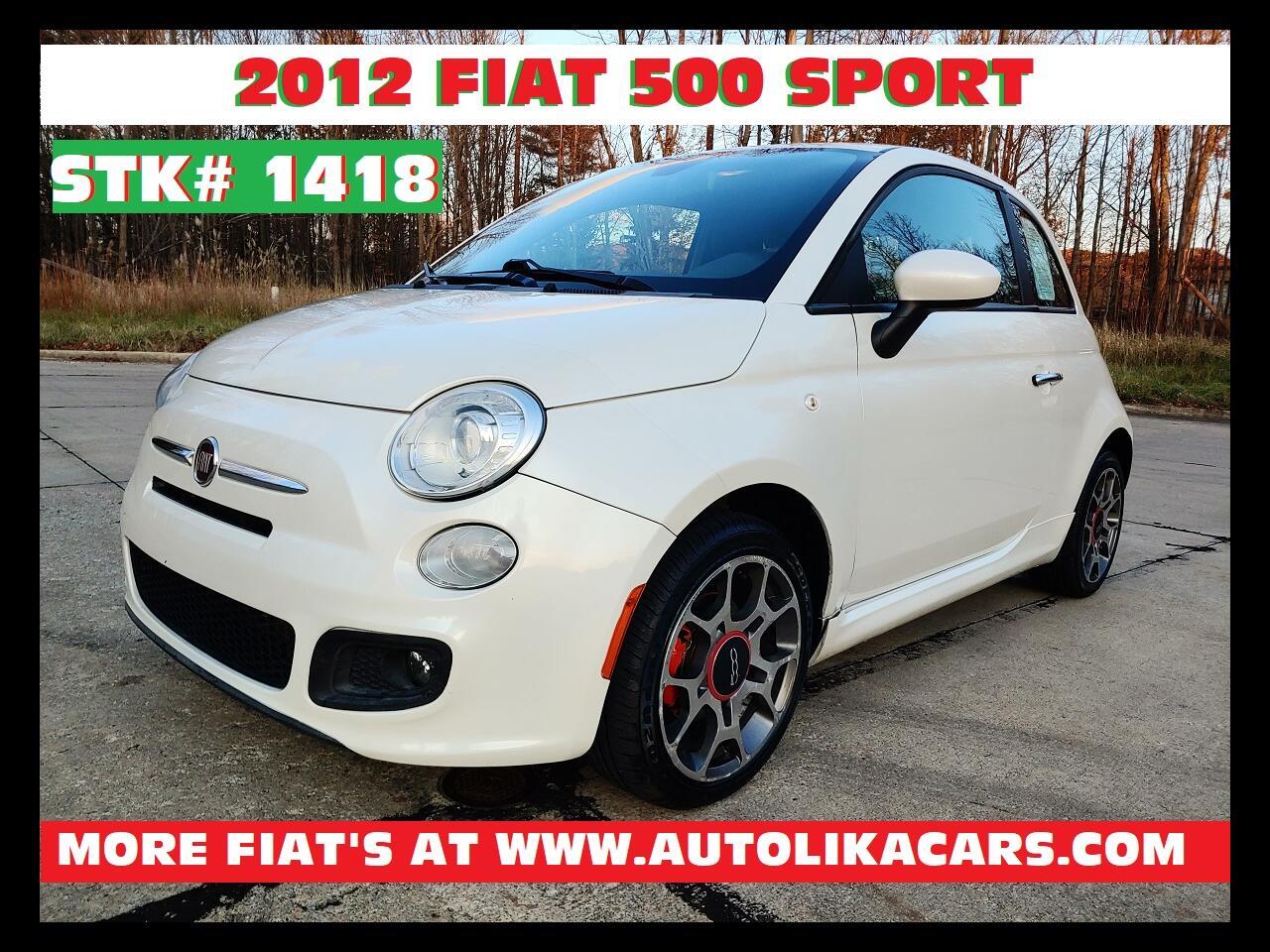 Fiat 500 2dr HB Sport 2012